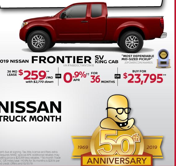 Collins Nissan Special